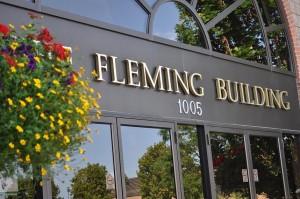 Fleming College Lakeshore Building Entrance